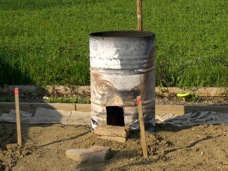 Ecco il nostro biochar doc monteveglio citt di transizione for Costruire stufa pirolisi